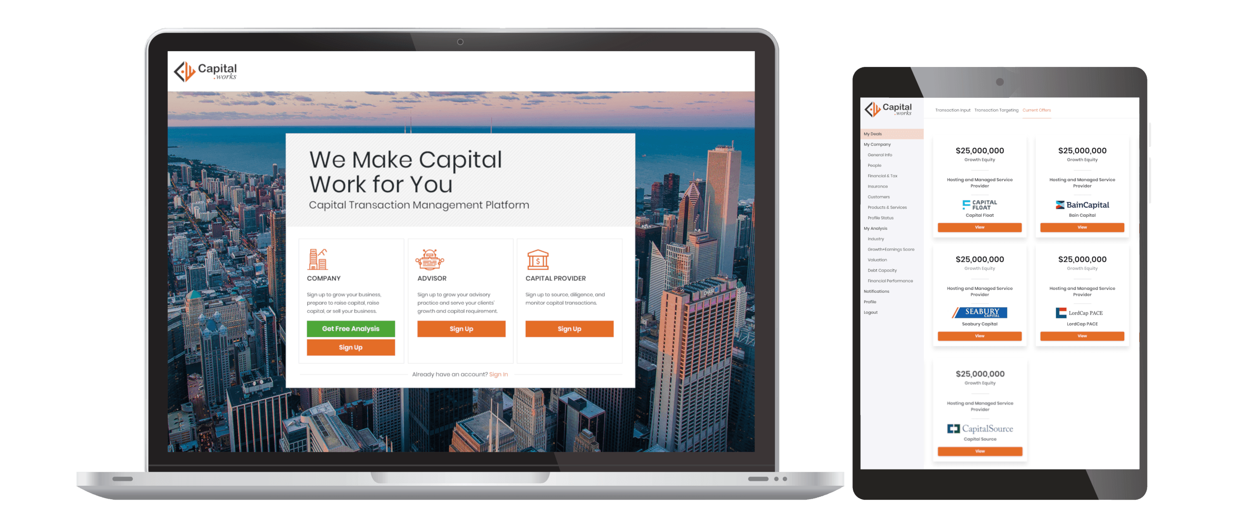 Capital Works Software by 7T - Dallas Custom Software Developers