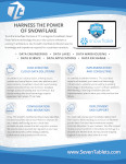 Snowflake One-Pager - Snowflake Certified Data Cloud Services by 7T